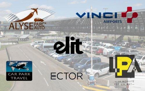 Comparatif parking aeroport Lyon
